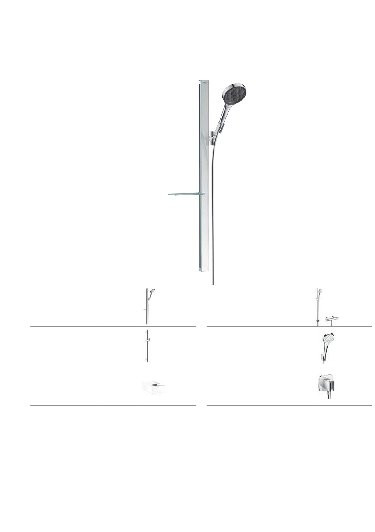 Picture of: Hansgrohe Puravida Unica 28694000 Corner Fitting Set For Raindance Unica S And Light Grey Bathtub Faucet Replacement Parts